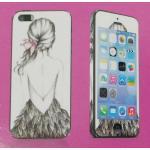 iPhone 5s - ฟิล์มลาย (Lady)