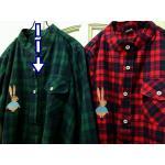 เดรสลายสก้อต ผ้าฝ้ายนิ่ม สไตล์ญี่ปุ่น สีเขียว