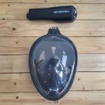 Freewell Easy Snorkel Full Face Mask Ver.1 พร้อม Mount สำหรับใส่กล้อง GoPro สีดำ L/XL