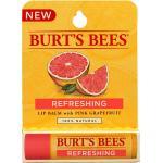 BURT'S BEES :: Burt's bee Refreshing Lip Balm with Pink Grapefruit บำรุงริมฝีปากนุ่ม ชุ่มชื่นด้วยคุณค่าจากเกรปฟรุต