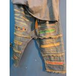 กางเกงยีนส์แต่งเซอร์ สีฟอก ขา 5-9 ส่วน สีซีด