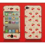 iPhone 4 - ฟิล์มลาย (ลายเชอร์รี่)
