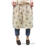 M babyruy กางเกงกระโปรงขายาวผ้าฝ้ายลายดอกไม้ สีฟ้า