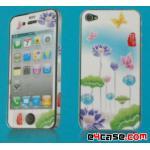 iPhone 4 - ฟิล์มลาย (ลายดอกไม้)