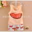 **ชุดเซ็ตเสื้อกล้ามแตงโม   ส้ม   S,M,L,XL   4ชุด/แพ๊ค   เฉลี่ย 145/ชุด thumbnail 1