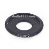 อแดปเตอร์แปลงท้ายเลนส์ C MOUNT สีดำ ใช้กับกล้อง SONY NEX