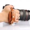 SLR Camera Hand Strap LYNCA E1S สายรัดมือกับกล้อง แบบหนัง สีน้ำตาล