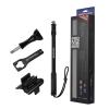 Freewell Metal Pro M2 Black รุ่นใหม่ล่าสุด ไม้เซลฟี่ยืดยาวได้ 17-40 นิ้ว มีที่ใส่ remote ไม่ลอยน้ำ กันน้ำ ใช้ในทะเลได้ สำหรับกล้อง GoPro Hero ทุกรุ่นหรือกล้อง Action Cam