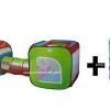 เซตคู่ บ้านบอลอุโมงค์(กลาง) + ลูกบอล Apex 100 ลูก คละสี มี มอก. รองรับค่ะ