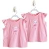 เสื้อเด็ก crazy8 สีชมพูลายกระต่าย Size: 2T