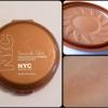 NYC Smooth Skin Bronzing Face Powder 720A Sunny บรอนเซอร์สีน้ำตาล เนื้อแมทท์ เฉดดิ้งให้หน้าดูเรียว โมเมแนะนำค่ะ