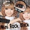 Mini Rock Black Dreamcolor1 คอนแทคเลนส์ ขายส่งคอนแทคเลนส์ Bigeyeเกาหลี ขายส่งตลับคอนแทคเลนส์