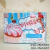 คัพเค้ก ดีวาส DIVAS Cupcake กล่องฟ้า 1@650,3@630 ,6@620,12@600 ร้านไฮยาดี้ทีเค 090-7565657