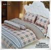 ผ้าปูที่นอนเกรด A ขนาด 6 ฟุต(5 ชิ้น)[AA-124]