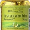 Puritan's Pride Natural Astaxanthin 5 mg / 30 Softgels