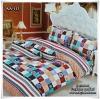 ผ้าปูที่นอนเกรด A ขนาด 6 ฟุต(5 ชิ้น)[AA-113]