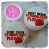 ไนท์ครีมสตอเบอร์รี่พลัส (Night Cream Strawberry Plus Mayziio By MadamKate)
