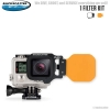 FLIP4 One Filter Kit with DIVE Filter for GoPro3, 3+, 4