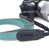 Lynca Camera Strap รุ่น LA-405 สายคล้องกล้อง คุณภาพดี สีเทาเขียว จาก Lynca