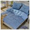 ผ้าปูที่นอนสไตล์โมเดิร์น เกรด A ขนาด 3.5 ฟุต(3 ชิ้น)[AS-078]