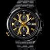 นาฬิกา คาสิโอ Casio Edifice Chronograph รุ่น EFR-536BK-1A9V สินค้าใหม่ ของแท้ ราคาถูก พร้อมใบรับประกัน