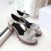 พรีออเดอร์ รองเท้าส้นสูง (ขาว,ดำ,น้ำตาล,เทา) ไซส์33-43