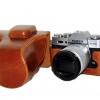 Case หนัง สีน้ำตาล สำหรับกล้อง FUJI X-T10