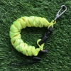 Cetacea Housing Heavy Duty Coiled Lanyard สีเขียวจี๊ด