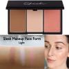 Sleek Face Form Contouring and Blush Palette # Light (เข้มกว่า Fair) ประกอบด้วยคอนทัวร์ ไฮไลท์ บรัชออนสี Rose Gold ใน 1 เดียว