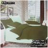 ผ้าปูที่นอนสีพื้น เกรด A สีเขียวทหาร ขนาด 3.5 ฟุต 3 ชิ้น