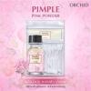 แป้งน้ำระเบิดสิว pimple pink powder by orchid ใหม่ล่าสุด จากประเทศเปรู
