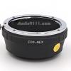 อแดปเตอร์แปลงท้ายเลนส์ CANON EOS ใช้กับกล้อง SONY NEX