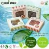 สบู่โคโค่โซป (COCO soap By Little Baby) สบู่มะพร้าว ทำความสะอาดผิวหน้าจากธรรมชาติ
