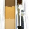 Canmake Mix Eyebrow # 01 Yellow Brown พาเลตต์แชร์โดว์ปัดคิ้วแสนสวย ไล่ 3 เฉดสี ให้มุมมองที่สวย ถูกใจ