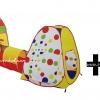 เซตคู่ บ้านบอลอุโมงค์(ใหญ่) + ลูกบอล Apex 100 ลูก คละสี มี มอก. รองรับค่ะ