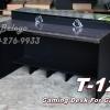 โต๊ะเล่นเกมส์ Gaming Desk T-121 สีกาไฟว์-ดำเคฟล่า