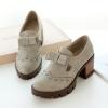 พรีออเดอร์ รองเท้าส้นสูง (เทา,เบจ,ดำ) ไซส์33-43