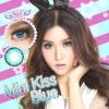 Mini kiss Blue Dreamcolor1เลนส์นิ่มใส่สบาย คอนแทคเลนส์ ขายส่งคอนแทคเลนส์ ขายส่งBigeye Bigeyeเกาหลี