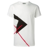DIOR HOMME ABSTRACT PRINT T-SHIRT