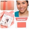 The Balm Instain Long Wearing Staining Powder Blush6.5 g. # SWISS DOT Fall สีส้มพีช