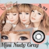 Mini Nudy Gray Dreamcolor1 คอนแทคเลนส์ ขายส่งคอนแทคเลนส์ Bigeyeเกาหลี