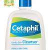 Cetaphil เซตาฟิล Cetaphil Gentle Skin Cleanser เซตาฟิลล้างหน้า สำหรับผิวบอบบาง สูตรสำหรับผู้ที่มีผิวแห้ง แพ้ง่าย ขนาดเล็ก รุ่นหัวปั๊ม 1000 ML ใหญ่สุด