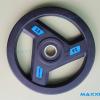 แผ่นน้ำหนักเหล็กหุ้มยาง MAXXFiT ขนาด 1 นิ้ว 25 MM.