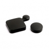 1107 - Lens Cap + Door ป้องกันฝุ่นหน้าเลนส์ กันรอย สำหรับกล้อง GoPro Hero4 สีดำ