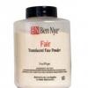 Ben Nye Fair Translucent Face Powder 85 g แป้งฝุ่นโทนชมพูอ่อน โปร่งแสง ไม่มีสี ใช้ได้กับทุกสภาพผิว