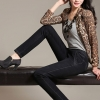 LW5710010 กางเกงยีนส์สาวเกาหลี big size เอวยาง ขาเดฟ (พรีออเดอร์)รอ 3 อาทิตย์หลังชำระเงิน