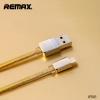 สายชาร์จไอโฟนสีทอง REMAX GOLD Series ( Iphone )