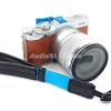 สายคล้องมือหนังแท้ + ผ้า SCA-1 สำหรับกล้อง DSLR และกล้อง Mirrorless