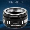 อแดปเตอร์แปลงท้ายเลนส์ LAINA สำหรับเลนส์ DKL ใช้กับกล้อง M4/3 (OLYMPUS, PANASONIC)