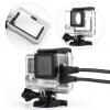 Telesin Skeleton Housing [OEM] สำหรับกล้อง GoPro Hero4, Hero3, Hero3+ แบบมีรูไม่กันน้ำ